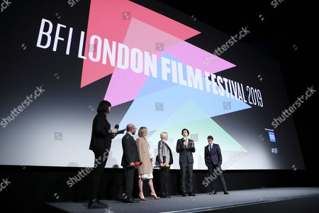 Editorial photo of 'The Report' premiere, Inside, BFI London Film Festival, UK - 05 Oct 2019
