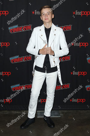 Editorial image of NYCC: Netflix Presents: Lost In Space Panel, New York, USA - 05 Oct 2019
