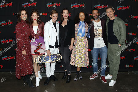 Parker Posey, Mina Sundwall, Maxwell Jenkins, Molly Parker, Taylor Russell, Ignacio Serricchiop and JJ Feild