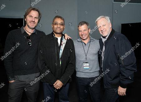 Stock Photo of Breck Eisner, Naren Shankar, Andrew Kosove and Emanuele 'Manny' Danelon