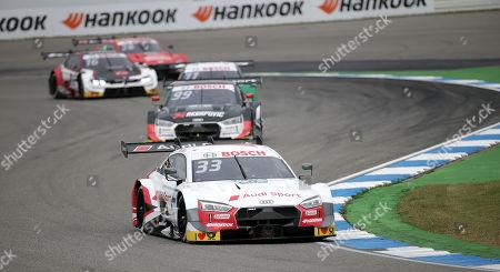 Stock Image of 05.10.2019, Hockenheimring, Hockenheim, DTM 2019, Hockenheimring,04.10. - 06.10.2019 ,  Rennstart: Rene Rast (DEU#33), Audi Sport Team Rosberg, Mike Rockenfeller (DEU#99), Audi Sport Team Phoenix, Marco Wittmann (DEU#11), BMW Team RMG, Loic Duval (FRA#28), Audi Sport Team Phoenix, Jonathan Aberdein (ZAF#27), WRT Team Audi Sport, Nico Mueller (CHE#51), Audi Sport Team Abt Sportsline, Jenson Button (GBR#1), Team Kunimitsu Honda