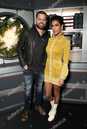 Wes Chatham and Dominique Tipper