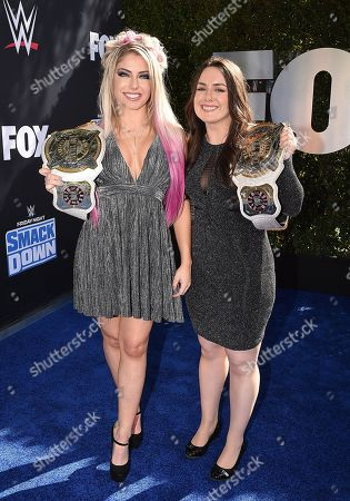 Alexa Bliss and guest