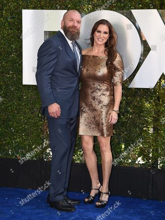 Stephanie McMahon-Levesque and Paul Levesque