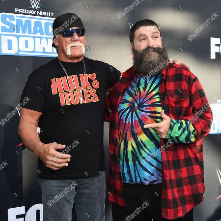 Hulk Hogan and Mick Foley