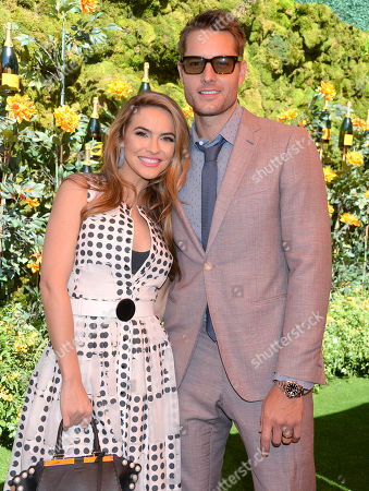 Justin Hartley and wife Chrishell Stause