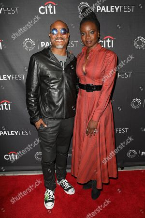 Seth Gilliam and Danai Gurira