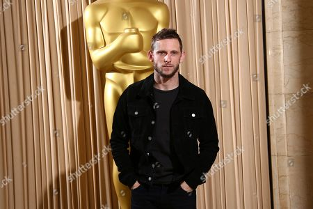 Stock Picture of Jamie Bell poses for photographers upon arrival at the The Academy of Motion Pictures and Sciences new members reception in central London