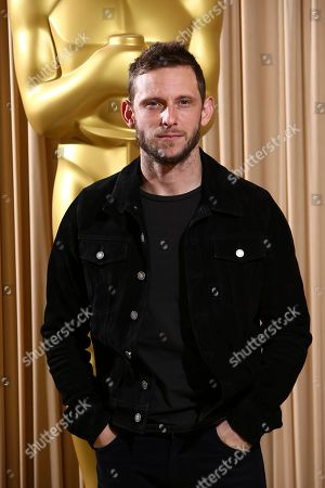 Stock Photo of Jamie Bell poses for photographers upon arrival at the The Academy of Motion Pictures and Sciences new members reception in central London