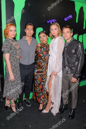 Jordan Rodrigues, Brianne Tju, Haley Ramm, Liana Liberato and Dylan Sprayberry