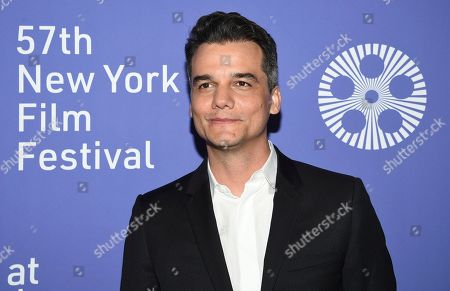"Wagner Moura attends the ""Wasp Network"" premiere during the 57th New York Film Festival at Alice Tully Hall, in New York"