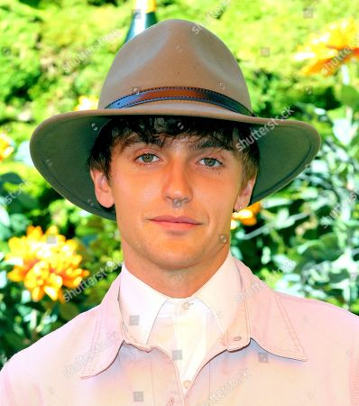 Hart Denton attends the 10th Annual Veuve Clicquot Polo Classic at Will Rogers State Historic Park, in Los Angeles, Calif