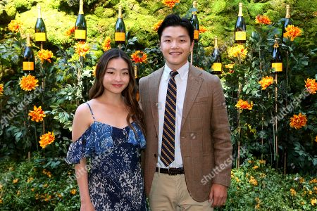 Maia Shibutani, Alex Shibutani. Maia Shibutani, left, and Alex Shibutani attend the 10th Annual Veuve Clicquot Polo Classic at Will Rogers State Historic Park, in Los Angeles, Calif
