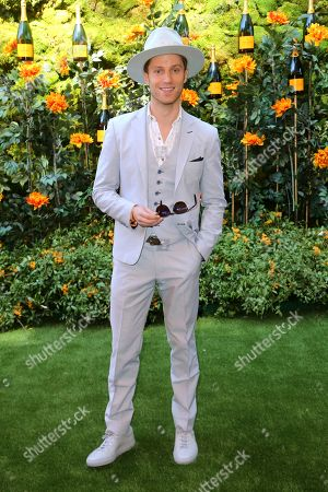 Jonathan Keltz attends the 10th Annual Veuve Clicquot Polo Classic at Will Rogers State Historic Park, in Los Angeles, Calif