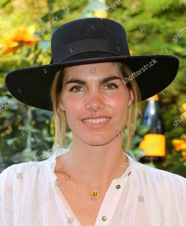 Delfina Blaquier attends the 10th Annual Veuve Clicquot Polo Classic at Will Rogers State Historic Park, in Los Angeles, Calif