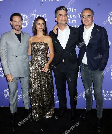 Edgar Ramirez, Penelope Cruz, Wagner Moura and Olivier Assayas