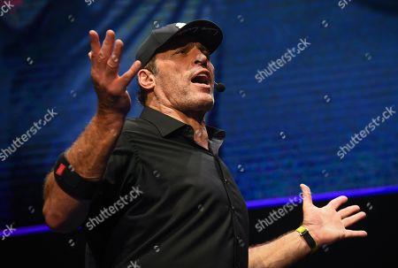 Editorial photo of Tony Robbins in concert at Menorah Arena, Tel Aviv, Israel - 04 Oct 2019