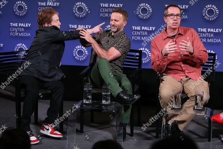 "Editorial picture of PaleyFest NY Presents - ""ROBOT CHICKEN"", New York, USA - 05 Oct 2019"
