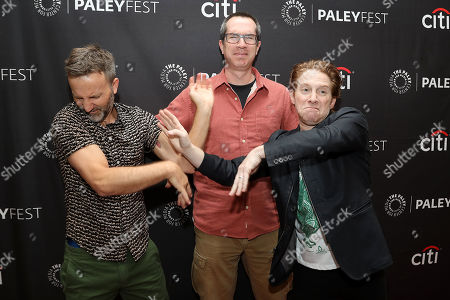 Breckin Meyer, Seth Green and Matthew Senreich