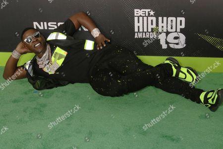 Editorial photo of BET Hip Hop Awards, Arrivals, Atlanta, USA - 05 Oct 2019