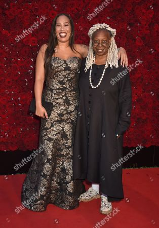 Stock Image of Whoopi Goldberg and daughter Alex Martin