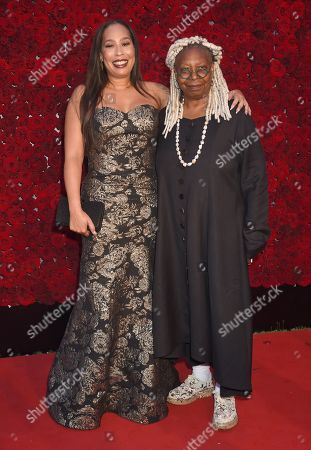 Stock Picture of Whoopi Goldberg and daughter Alex Martin
