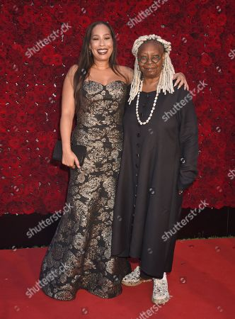Stock Photo of Whoopi Goldberg and daughter Alex Martin