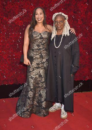 Whoopi Goldberg and daughter Alex Martin
