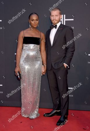 Stock Picture of Tika Sumpter and Nicholas James