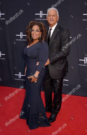 Stock Photo of Oprah Winfrey and Stedman Graham