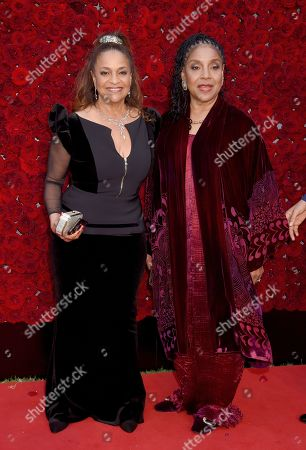 Stock Picture of Debbie Allen and Phylicia Rashad