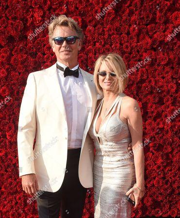 John Schneider and Alicia Allain