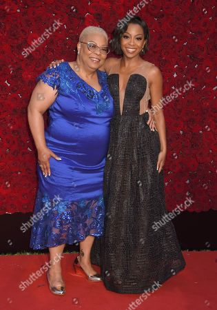 Stock Image of Bresha Webb and mother Sharon Webb