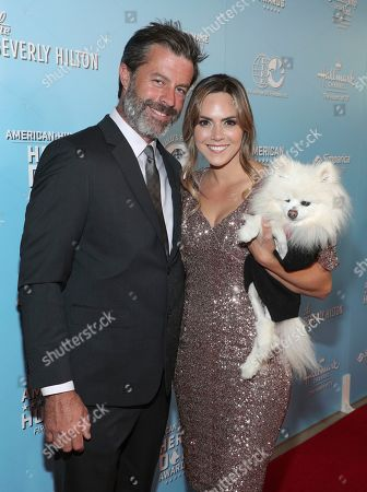 Jason Holman, Laura Nativo, Preston Casanova. Jason Holman, from left, Laura Nativo and Preston Casanova are seen at the 2019 American Humane Hero Dog Awards at The Beverly Hilton, in Beverly Hills, Calif