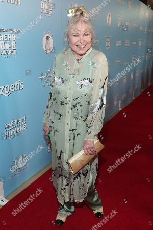 Michelle Phillips is seen at the 2019 American Humane Hero Dog Awards at The Beverly Hilton, in Beverly Hills, Calif