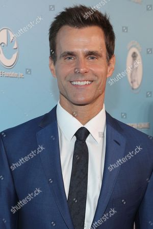 Cameron Mathison is seen at the 2019 American Humane Hero Dog Awards at The Beverly Hilton, in Beverly Hills, Calif
