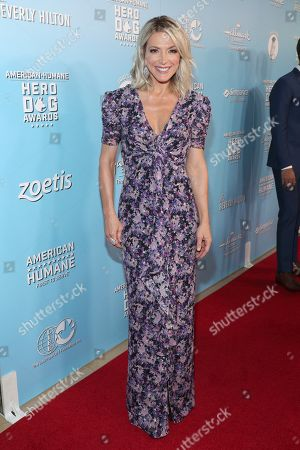 Debbie Matenopoulos is seen at the 2019 American Humane Hero Dog Awards at The Beverly Hilton, in Beverly Hills, Calif