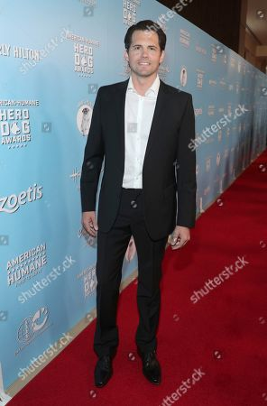 Kristoffer Polaha is seen at the 2019 American Humane Hero Dog Awards at The Beverly Hilton, in Beverly Hills, Calif