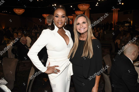 Vivica A. Fox, Dr. Robin R. Ganzert. Vivica A. Fox, left, and Dr. Robin R. Ganzert at the 2019 American Humane Hero Dog Awards at The Beverly Hilton, in Beverly Hills, Calif. The 2019 American Humane Hero Dog Awards airs October 21, at 8pm ET/PT on Hallmark Channel
