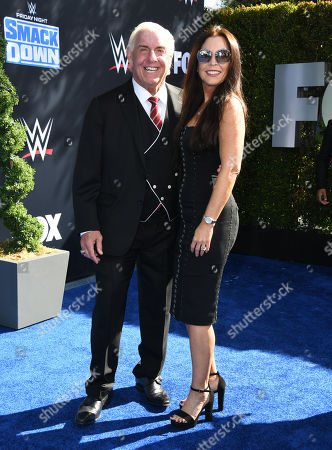 Editorial photo of WWE 20th Anniversary Celebration, Staples Center, Los Angeles, USA - 04 Oct 2019