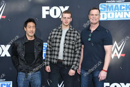 Ken Choi, Oliver Stark and Peter Krause
