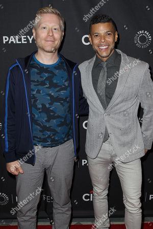 Anthony Rapp and Wilson Cruz
