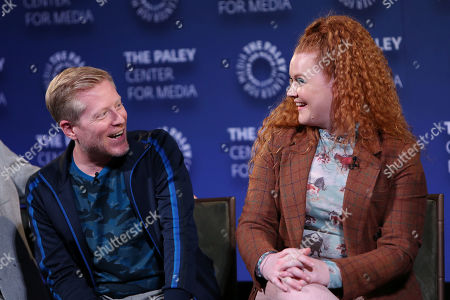 Anthony Rapp and Mary Wiseman