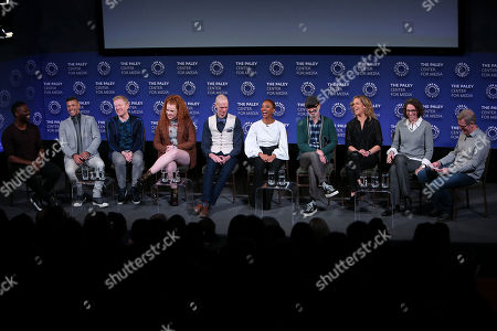 David Ajala, Wilson Cruz, Anthony Rapp, Mary Wiseman, Doug Jones, Sonequa Martin-Green, Alex Kurtzman, Heather Kadin, Michelle Paradise and Scott Collura