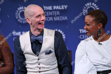 Doug Jones and Sonequa Martin-Green
