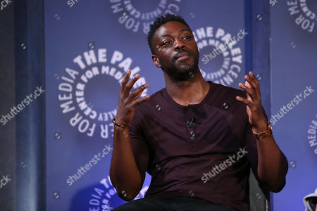 Stock Picture of David Ajala