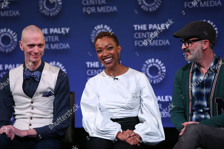 Doug Jones, Sonequa Martin-Green and Alex Kurtzman