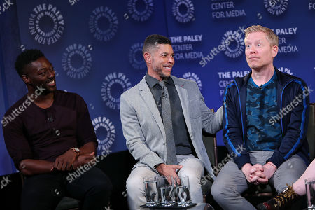 David Ajala, Wilson Cruz, Anthony Rapp