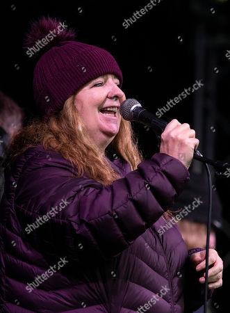 Scottish comedian Jade Goody