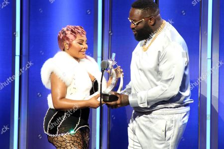 Lil Kim and Rick Ross